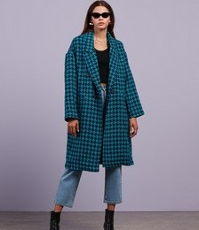 Check Me Out Houndstooth Coat