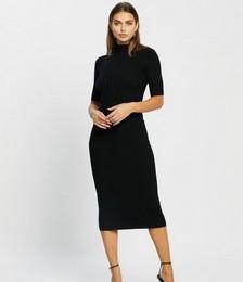 Adelene Knit Midi Dress