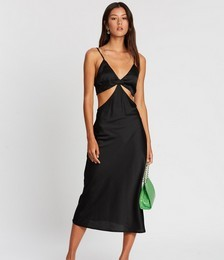To Be Honest Cut-Out Slip Dress