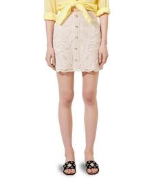 Jirou Macramé Mini Skirt