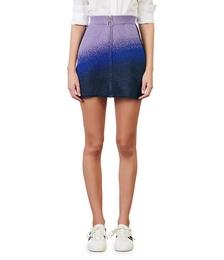Jiselle Lurex Knit Mini Skirt