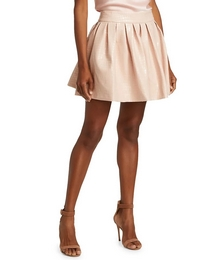 Fizer Faux Leather Skirt