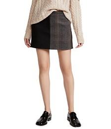 Mini Trouser Skirt