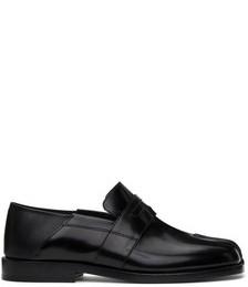 Black Tabi Loafers