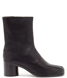 Tabi Split-toe Leather Ankle Boots
