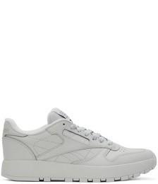 Grey Reebok Edition Classic Leather Tabi Sneakers