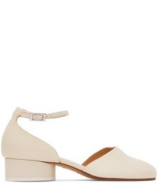 Off-White Ankle Strap Tabi Heels