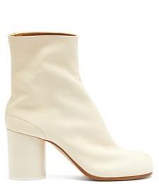 Tabi Split-toe Vintage-leather Ankle Boots