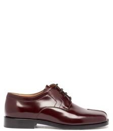 Tabi Flat Leather Shoes