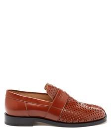 Tabi Split-toe Perforated Loafers