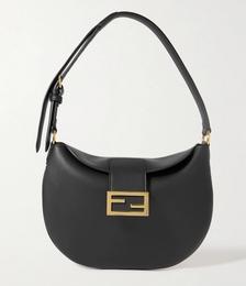 Croissant Medium Leather Shoulder Bag