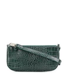 Rachel Croc-effect Baguette Shouler Bag