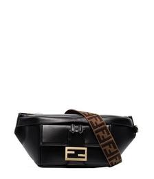 Baguette Logo-print Leather Belt Bag