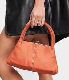 Nylon Grab Bag in Rust