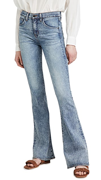 Beverly High Rise Skinny Flare Jeans