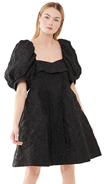 Puff Sleeve Bustier Dress