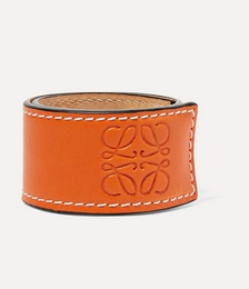 Logo-embossed Leather Bracelet