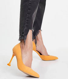 Call it Spring by ALDO Andreaa Vegan-friendly Flared Stiletto Court Shoes in Orange