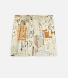 Nara Timothy Silk Shorts