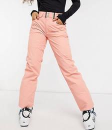 Glow10K-10K Ski Pants in Dusty Pink