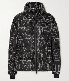 Dixence Printed Quilted Down Ski Jacket