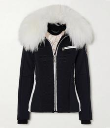 + Fusalp Shearling-trimmed Quilted Ski Jacket
