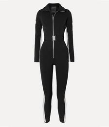 Cordova Striped Ski Suit