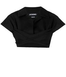 Short-sleeve Crop Top
