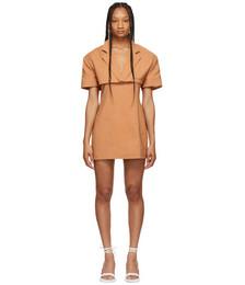 Brown 'La Robe Gardian' Dress