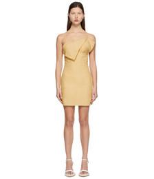 Yellow 'La Robe Drap' Dress
