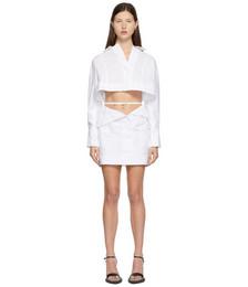 White 'La Robe Terraio' Dress