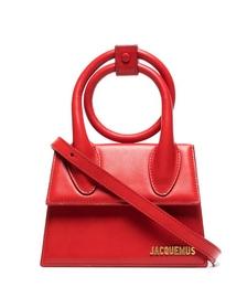 Le Chiquito Noeud Leather Mini Bag