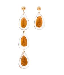 Nut Drop Earrings