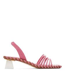 Pink 'Les Sandales Valerie' Heeled Sandals