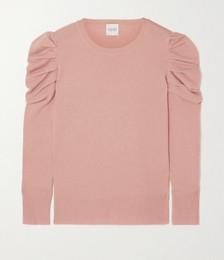 Zermatt Ruched Cashmere Sweater