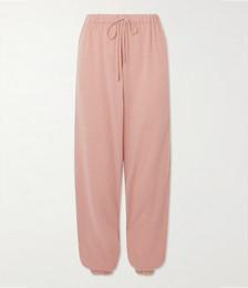 Morgins Cashmere Track Pants