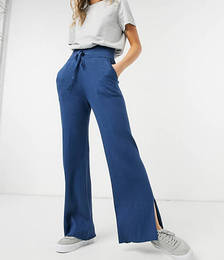 Wide Rib Trackies Co-ord in Teal