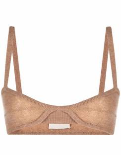 Knitted Cashmere Bralette
