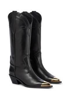 Fontana Leather Cowboy Boots