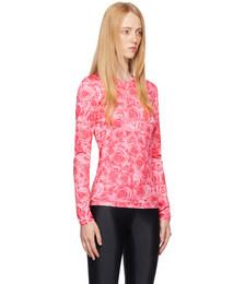 Pink Rose Saya Long Sleeve T-Shirt