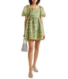 Monika Sequin-embellished Silk-chiffon Mini Dress