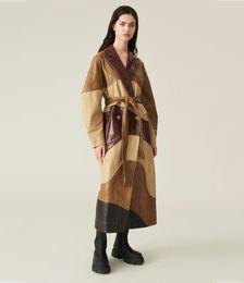 Lamb Leather Coat