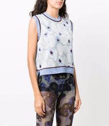 Berry Knit Vest