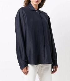 Kia Spread-collar Shirt
