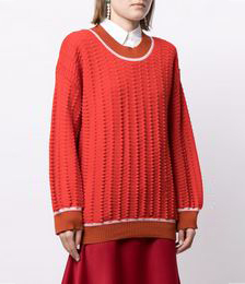 Day Time Textured Jumper