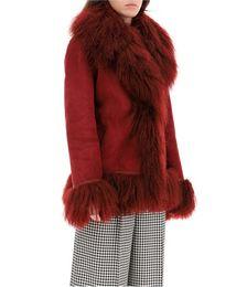 Bon Sherling Coat with Fur