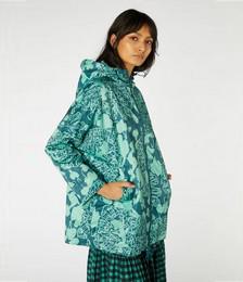 Lace Face Raincoat
