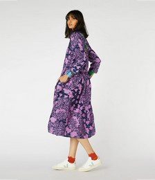 Lace Face Dupion Dress