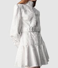 Transcendence Rose Lace Short Dress