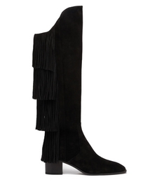 Lion 55 Fringed Suede Knee-high Boots
